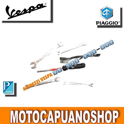 Kit Herramientas de reparación rápida para bolsa Vespa 50125150200
