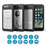 Oaxis Inkcase für iPhone 7 Plus - E Ink Reader für iPhone 8 Plus / 7 Plus / 6 Plus, Smartest iPhone Assistant Hülle mit E Ink Display Ersatz für E Ink Kalender/eBook/News/Note Pocket