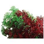 SODIAL(R) Artificial Fish Tank Water Tropical Plastic Aquarium Plants Ornament Green Decor 10