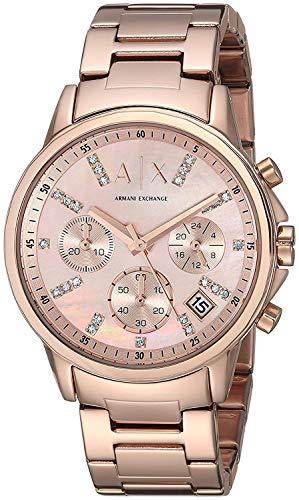 Armani Exchange Watch AX4326 Rosegold Damen Japan