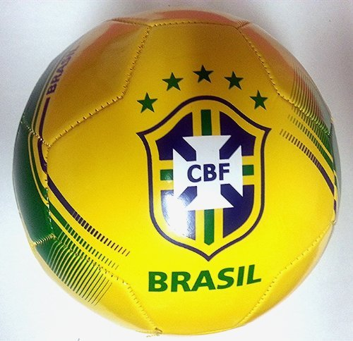 e994fda691b Brazil National Team Official Soccer Ball Size 5 2014 New Model by Rhinox