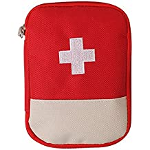 PERFECT SHOPO Mini Small First Aid Kit Travel Pouch Medicine Storage Bag