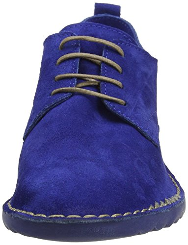 FLY London Damen Dena453fly Schnürschuhe Blau (blue 002)