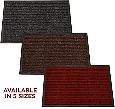 Woodside Heavy Duty Non Slip Office Entrance Dirt Barrier Door Mat Rug produced by Woodside - quick delivery from UK.