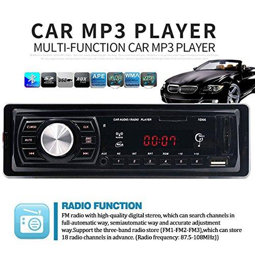 Sedeta Audio Autoempfänger FM Radio Bluetooth USB MP3 Autoradio MP3 / WMS / USB / SD AM / FM im - Dvd-player Eingebaute Mit Smart-tv