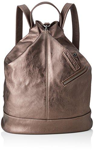 Fritzi aus Preussen Damen Tomke Rucksackhandtasche, Braun (Dark Bronze) 166/Saddle, 32x38x13 cm