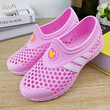 zhENfu Unisex pantofole & amp; flip-flops Comfort PU Casual molla blu royal kaki arrossendo rosa grigio blu scuro Flat Blushing Pink