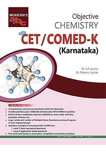 MOD ABC OF OBJECTIVE CHEMISTRY CET/COMED-K (E) KARNATAKA (English Edition)