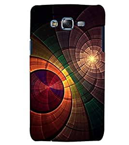 Citydreamz Colorful Circles Abstract Pattern Hard Polycarbonate Designer Back Case Cover For Samsung Galaxy J7 2016 /J76/J710