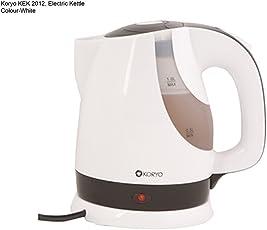 Koryo KEK 2012 Electric Kettle,1L, 1200W(White)