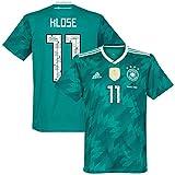 Deutschland Away Trikot 2018 2019 inkl Danke Miro Klose 11 Beflockung - XS