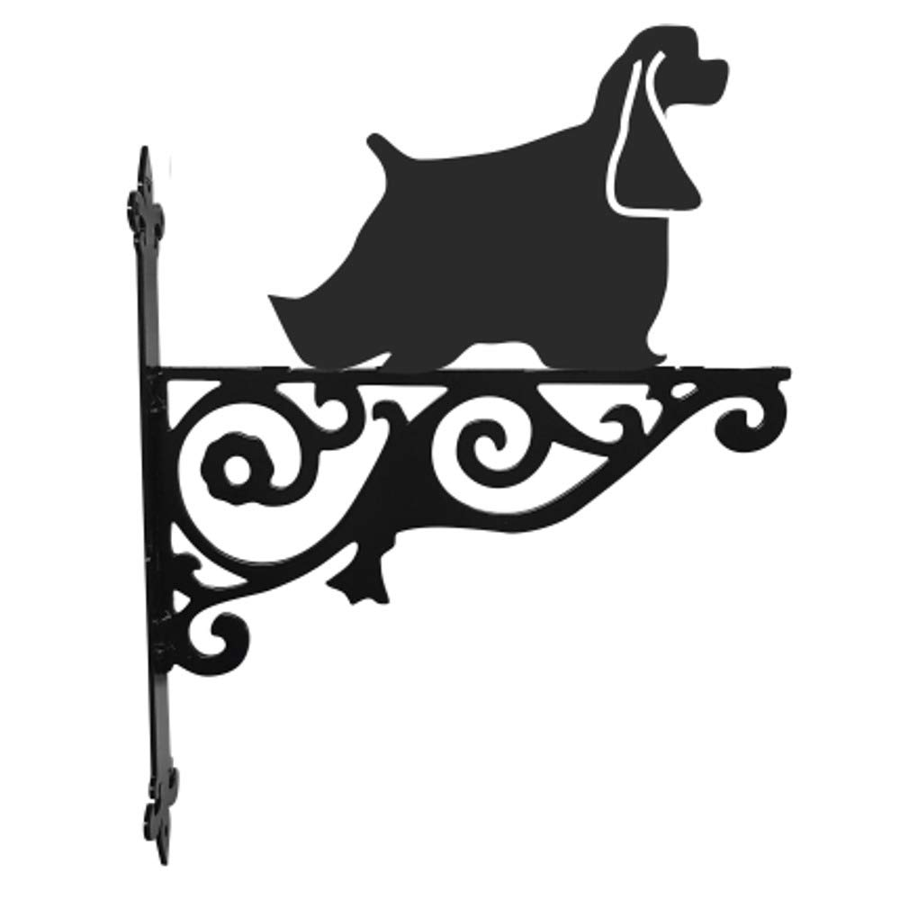 American Cocker Spaniel Ornamental Hanging Bracket