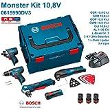 Bosch - monster kit 10,8 v-li professional (0 615 990 dv3)