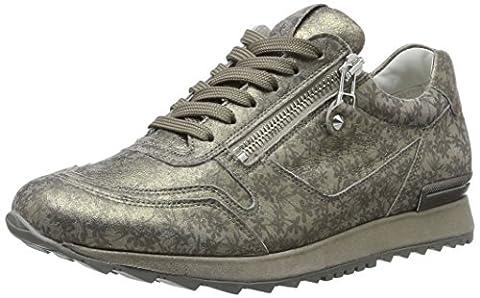 Kennel und Schmenger Schuhmanufaktur Damen Runner Sneakers, Mehrfarbig (Pewter Sohle Pewter), 41 EU (7.5 UK)