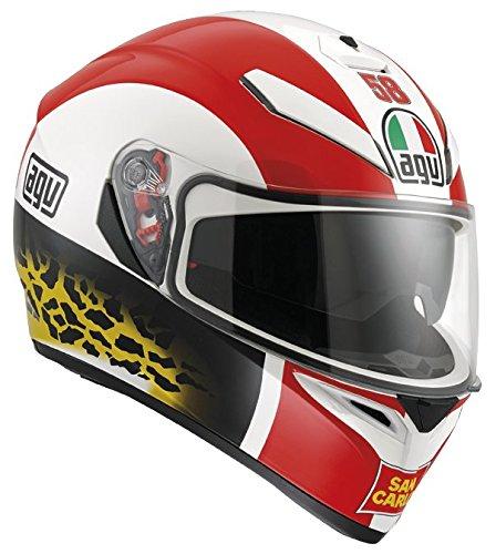 AGV J0301A1E0002S Casco K-3 SV E2205 Replica, Multicolore (Simoncelli), 5 - Agv Sport Moto