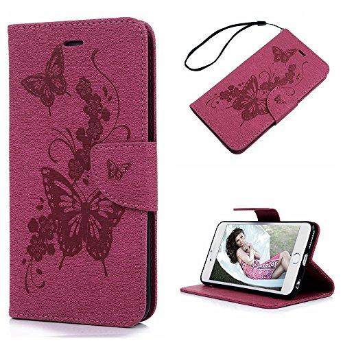 iphone-6-plus-wallet-case-iphone-6s-plus-flip-case-55-inch-maxfeco-butterfly-flying-along-flower-vin