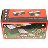 Automatic Card Shuffler Battery Operated Lever For Shuffle