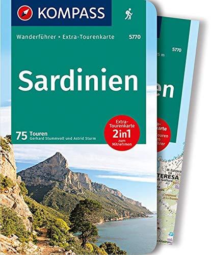 Sardinien: Wanderführer mit Extra-Tourenkarte 1:50.000 - 1:62.500, 75 Touren, GPX-Daten zum Download.: Wandelgids met overzichtskaart (KOMPASS-Wanderführer, Band 5770)