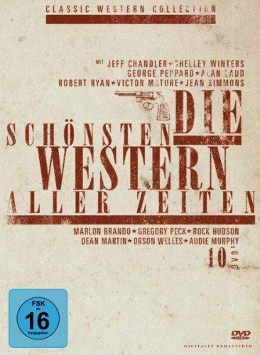 Bild von Die schönsten Western aller Zeiten - Sammlerbox [10 DVDs]