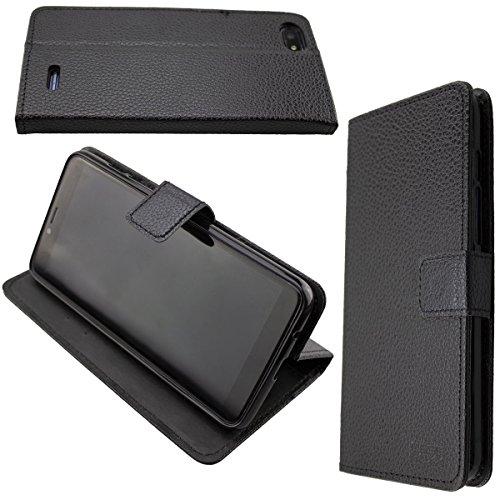 caseroxx Hülle/Tasche Bookstyle-Case Archos Core 57s Handy-Tasche, Wallet-Case Klapptasche in schwarz