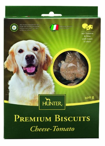 Artikelbild: Hunter Premium Biscuit Hundekeks Cheese Tomato, 200 g, 4er Pack (4 x 200 g)
