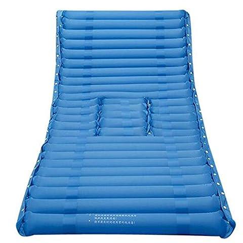 XUAN Traitement Traitement médical Soulagement de la douleur Empêcher le couvert de sommeil Decubitus Soin simple Coussin gonflable pour matelas Hémorroïde Bleu