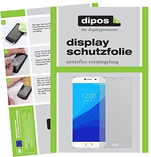 dipos I 6X Schutzfolie matt passend für Umidigi Z Pro Folie Bildschirmschutzfolie