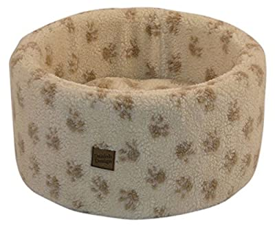Danish Design Cat Cosy Bed Donut Plush Fleece 2 sizes