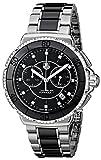 TAG Heuer Damen-Armbanduhr Chronograph Quarz Edelstahl CAH1212.BA0862