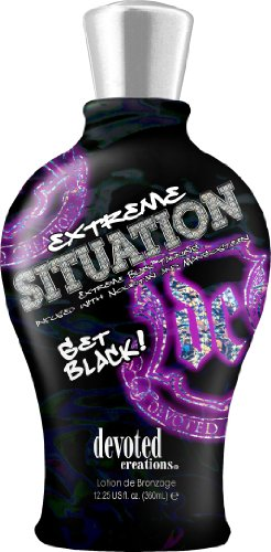 Devoted Creations Extreme Situation Black Tanning Bronzer 360 ml