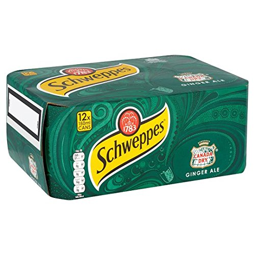 schweppes-canada-dry-ginger-ale-150ml-can-x-case-of-24