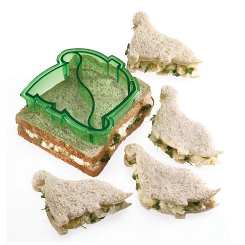 Image of Let's Make Dinosaur Shaped Sandwich Cutter
