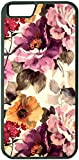 Yanteng Gewohnheit Fall für iPhone 6Plus iPhone 6S Plus (5.5 Zoll) Watercolor-Blumen