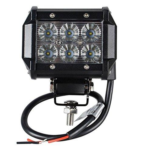 LED light bar, CREE lavoro luci auto faro proiettore spot fascio Combo luci illuminazione esterna impermeabile IP67SUV fuoristrada barca driving 12V 24V, 10,2cm, 18W