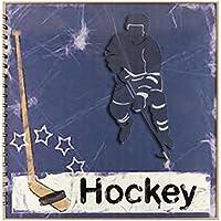 "3dRose db_16310_2 giocatore di Hockey ""Memory Book, 30,5 x 30,5 cm"