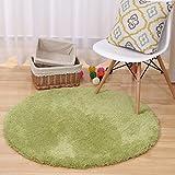 ZiXuan Runde Teppich Teppich Fitness Yoga Teppich Computer Stuhl Kissen Schlafzimmer Wohnzimmer Bettdecke Teppich (Farbe : A, größe : Diameter 140CM)