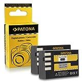 2x Batteria D-Li109 DLi109 per Pentax K-2 | K-30 | K-50 | K-500 |...