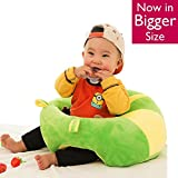 #2: Baby Soft Plush Cushion Cotton Sofa Seat Infant Safety Car Chair Learn to Sit Stool Training Kids Support Sitting for Dining - Various Colours & Designs