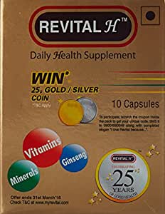 Revital H - 10 Capsules - Win gold/silver coin