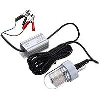 LEDMOMO LED de Pesca Noctura Sumergible Luz LED Brillante y Atractiva (Verde)
