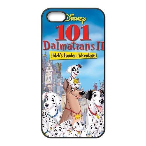 iphone5 5s Black phone case Disney Cartoon Comic Series 101 Dalmatians QBC3076870