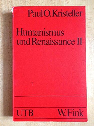 Humanismus und Renaissance II