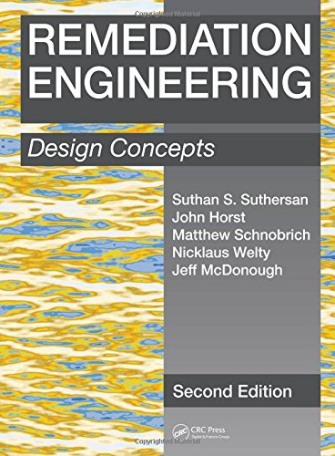 Remediation Engineering: Design Concepts, Second Edition por Suthan S. Suthersan