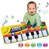 MMRM Musique Tapis Mat Toucher Jouer Bébé Chanter Piano et Clavier Couverture Enfant Jouet Jeu Tapis de Jeu Pour Enfants