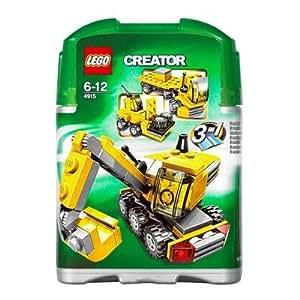 LEGO - Creator - Jeu de construction - Mini Véhicules de chantier