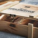 Zwilling 07150-359-0 Steak Besteckset in rustikaler Holzbox, Edelstahl, 12-teilig - 6