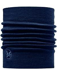 Buff foulard multifonction pour adulte thermal cache-col avec extérieur en laine mérinos taille unique