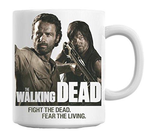 The Walking Dead-Fight The Fead The Living Dead-Tazza