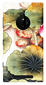 TrilMil Printed Designer Mobile Case Back Cover For MICROSOFT Nokia Lumia 830