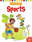 Little Artist Series Sports: Copy Colour Books